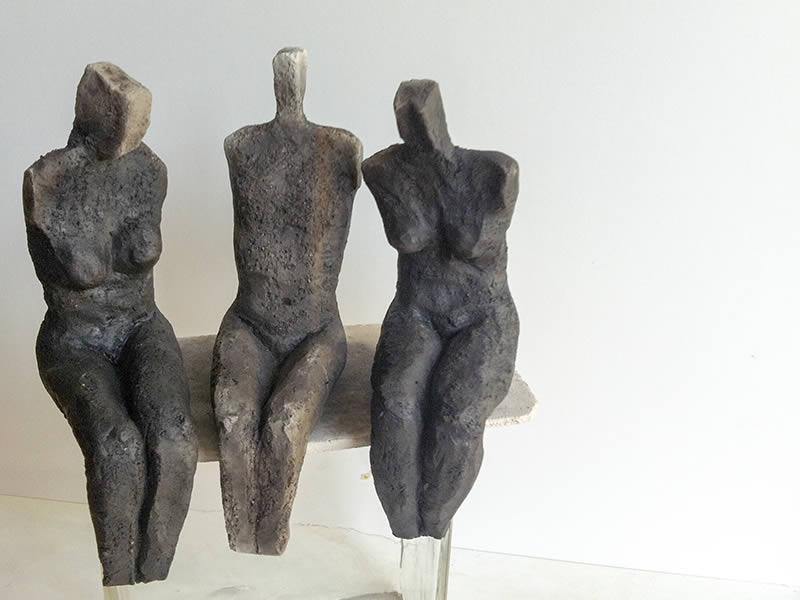 Skulpturen susanne zarnitz for Gartenskulpturen aus ton